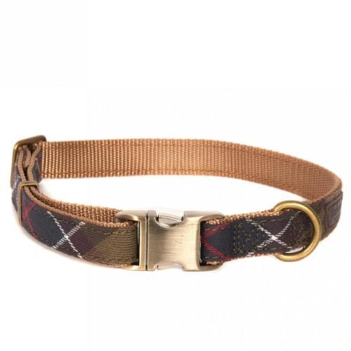 Barbour Classic Tartan Webbing Dog Collar