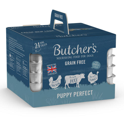Butchers Perfect Puppy Trays Wet Puppy Food