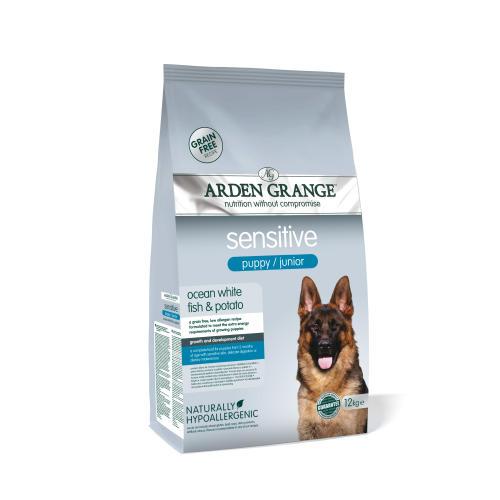 Arden Grange Sensitive Grain Free Puppy Dry Dog Food