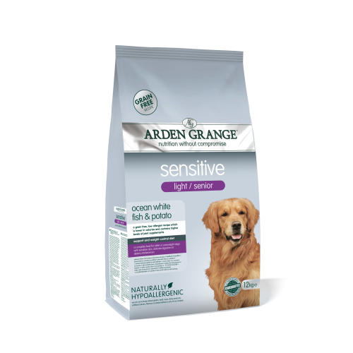Arden Grange Sensitive Grain free Light Senior Dry Dog Food
