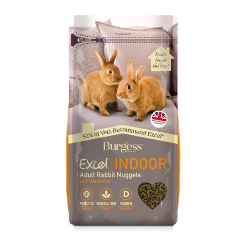 Burgess Excel Indoor Rabbit Food Nuggets