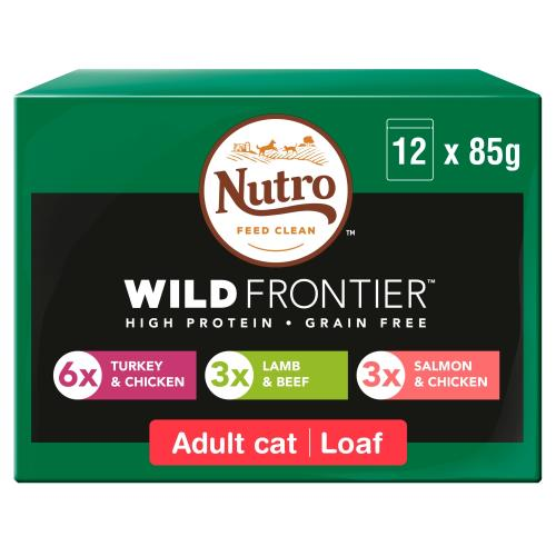 NUTRO Ancestral Meat Selection in Loaf Adult Wet Cat Food