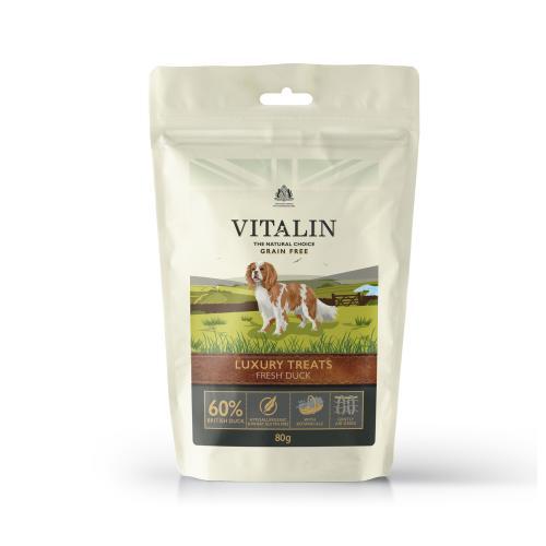 Vitalin Natural Luxury Duck Dog Treats
