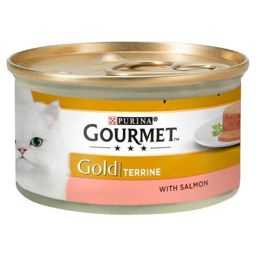 Gourmet Gold Terrine with Salmon Cat Food