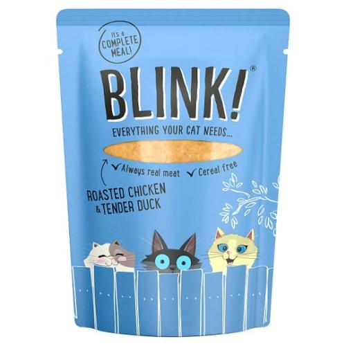 Blink Roasted Chicken & Tender Duck Wet Cat Food