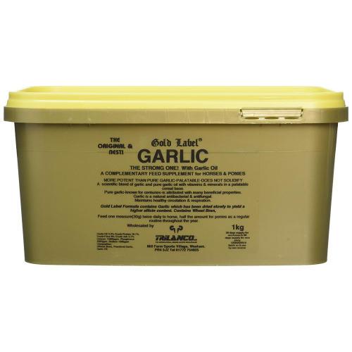Gold Label Garlic Powder Horse Supplement