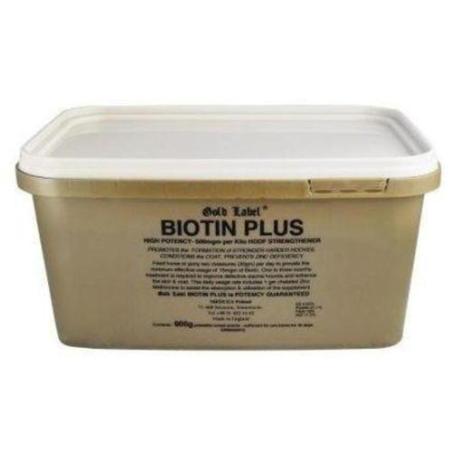 Gold Label Biotin Plus Horse Hoof Supplement