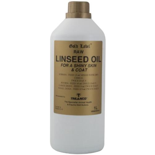 Gold Label Linseed Oil Horse Supplement