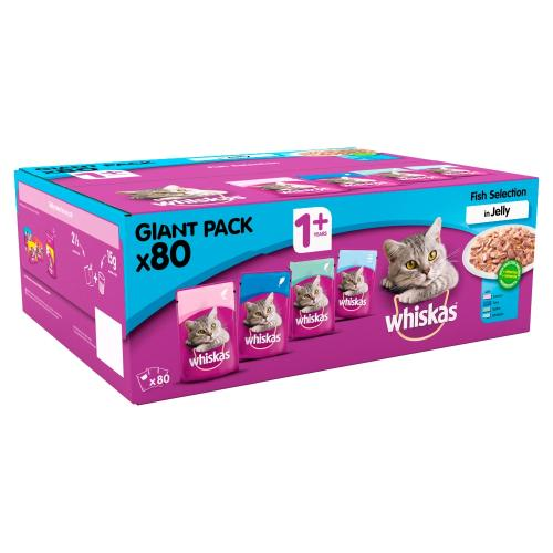 Whiskas 1 Fishermans Choice Adult Cat Food Pouches From 163
