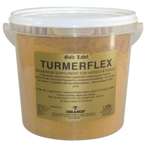 Gold Label Turmerflex Horse Supplement