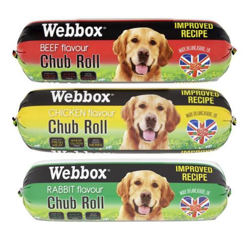 Webbox Chub Rolls Dog Food