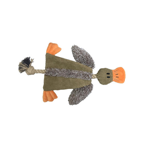 Good Boy Crinkle Duck Dog Toy