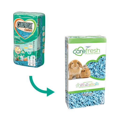 Carefresh Colours Blue Small Pet Bedding