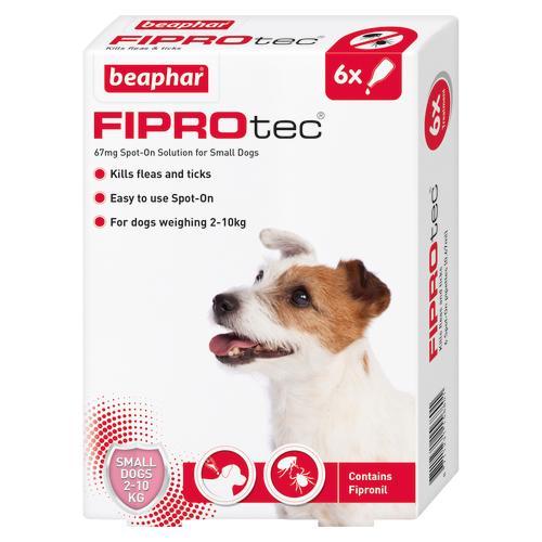 Beaphar FIPROtec Flea & Tick Spot On Treatment for Dogs