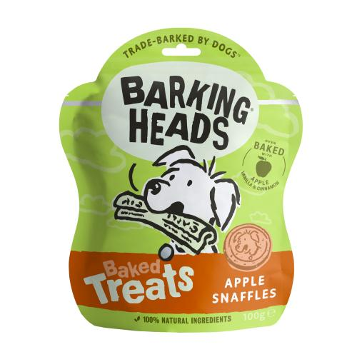 Barking Heads Apple Snaffles Baked Dog Treats
