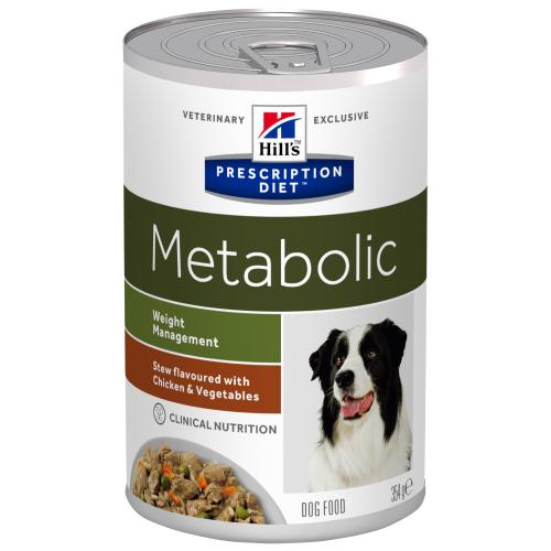 Hills Prescription Diet Metabolic Chicken & Veg Stew Wet Dog Food