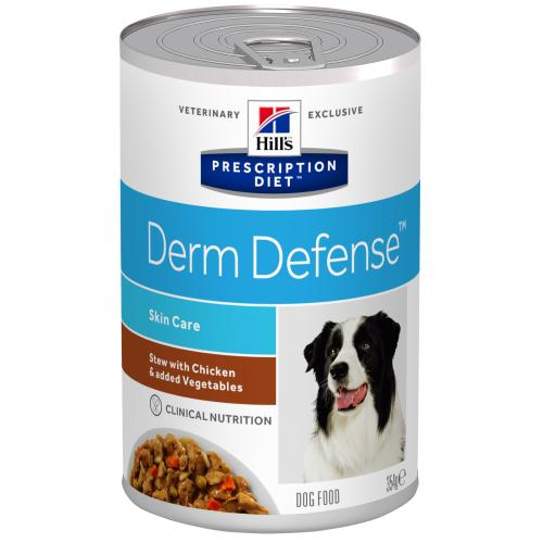 Hills Prescription Diet Derm Defense Chicken & Veg Stew Wet Dog Food