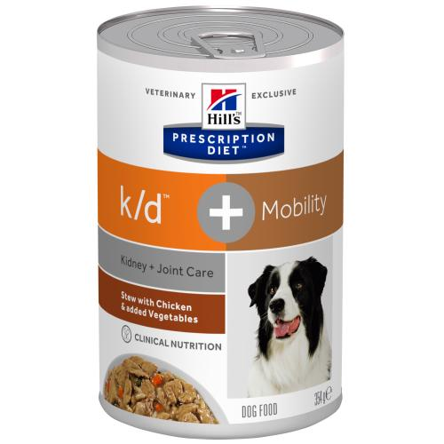 Hills Prescription Diet KD + Mobility Chicken & Veg Stew Wet Dog Food
