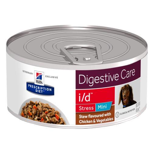 Hills Prescription Diet ID Stress Mini Chicken & Veg Stew Wet Dog Food