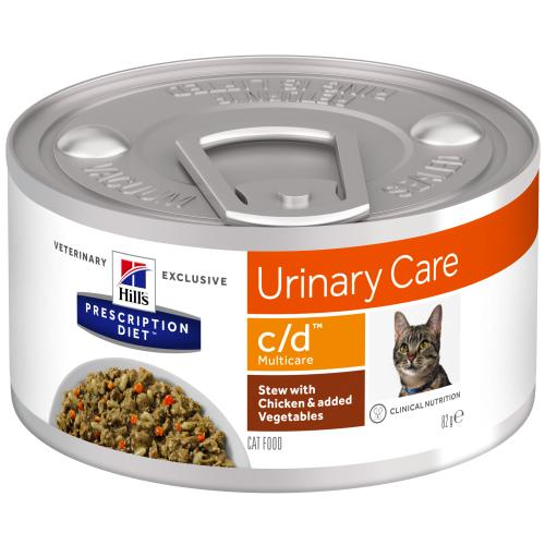Hills Prescription Diet CD Chicken & Veg Stew Wet Cat Food