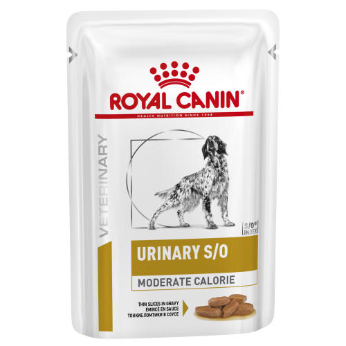 Royal Canin Veterinary Diets Urinary SO Moderate Calorie Thin Slices in Gravy Adult Wet Dog Food