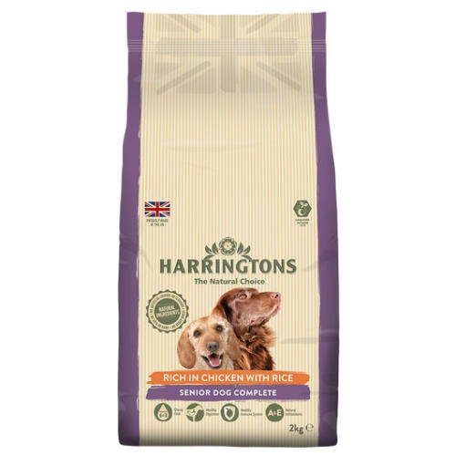Harringtons Complete Chicken & Rice Senior Dry Dog Food