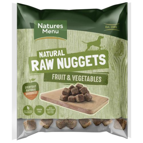 Natures Menu Fruit & Vegetable Nuggets Raw Frozen Dog Food