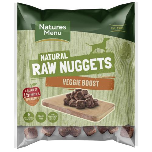 Natures Menu Complete Veggie Boost Nuggets Raw Frozen Dog Food
