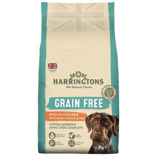 Harringtons Grain Free Chicken & Sweet Potato Adult Dog Food