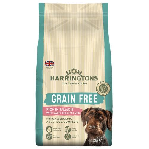 Harringtons Grain Free Salmon & Sweet Potato Adult Dog Food