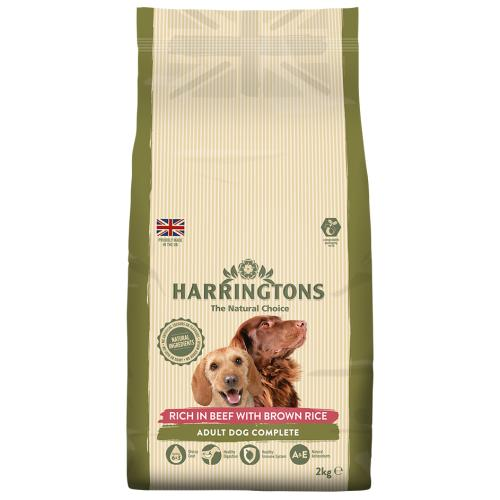Harringtons Beef with Brown Rice Adult Dog Food