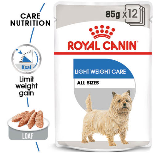 Royal Canin Light Weight Care Wet Adult Dog Food Pouches