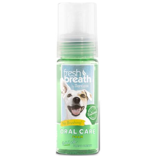 Tropiclean Fresh Mint Foam for Cats & Dogs