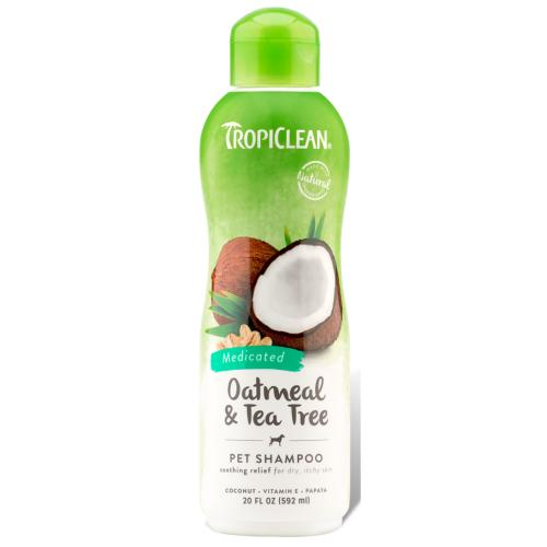 Tropiclean Oatmeal & Teatree Shampoo for Dogs