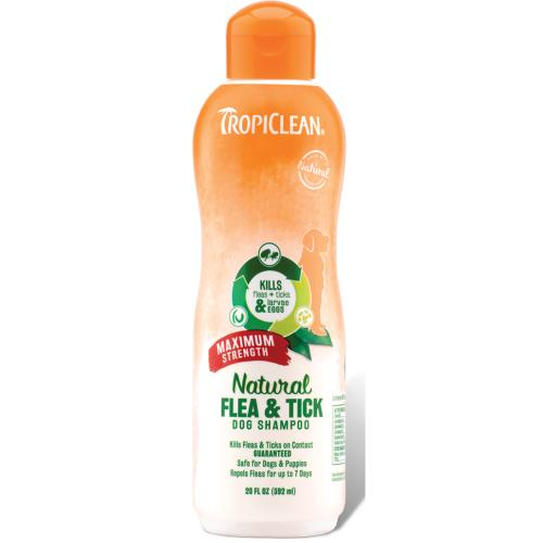 Tropiclean Natural Flea and Tick Shampoo for Dogs