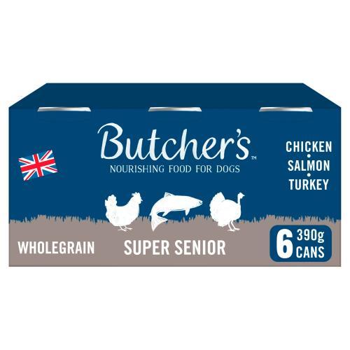 Butchers Super Senior Dog Food Tins