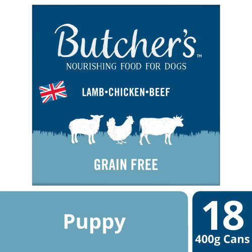 Butchers Puppy Perfect Dog Food Tins