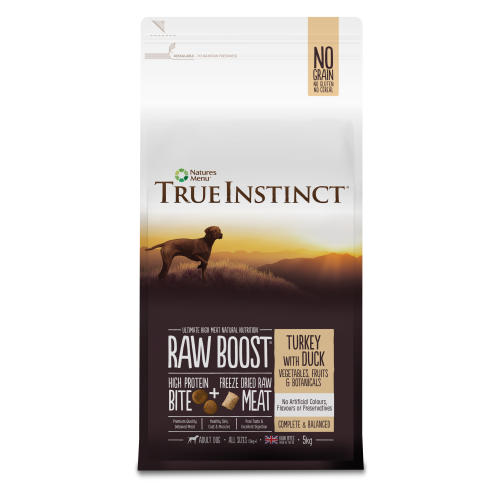 True Instinct Raw Boost Turkey with Duck Adult Dry Dog Food