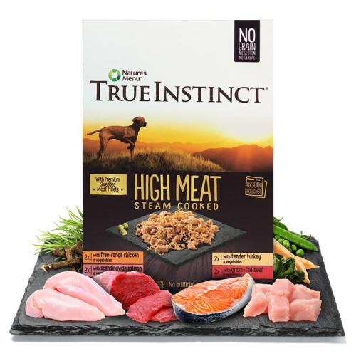 True Instinct High Meat Fillets Multipack Small Breed Adult Wet Dog Food