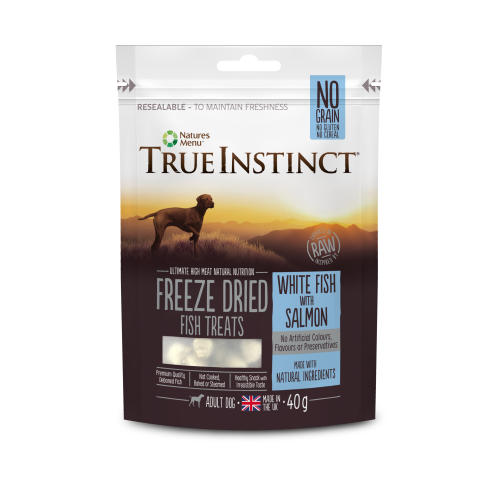 True Instinct White Fish with Salmon Freeze Dried Dog Treats