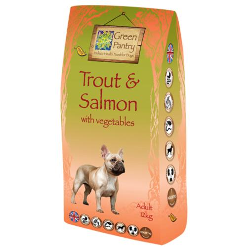 Greendog Trout Salmon & Veg Dry Adult Dog Food