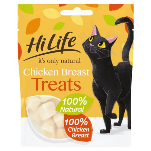 HiLife Its Only Natural Adult Chicken Cat Treats