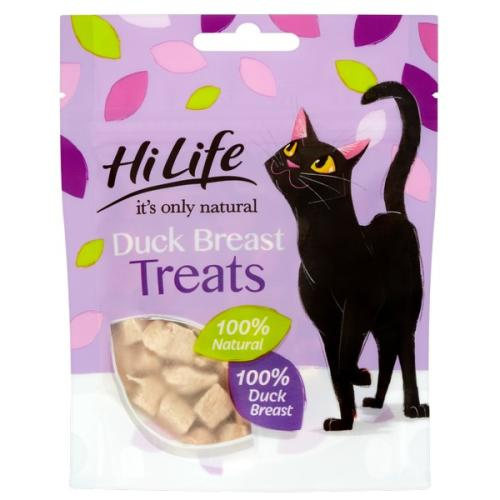 HiLife Its Only Natural Adult Duck Cat Treats