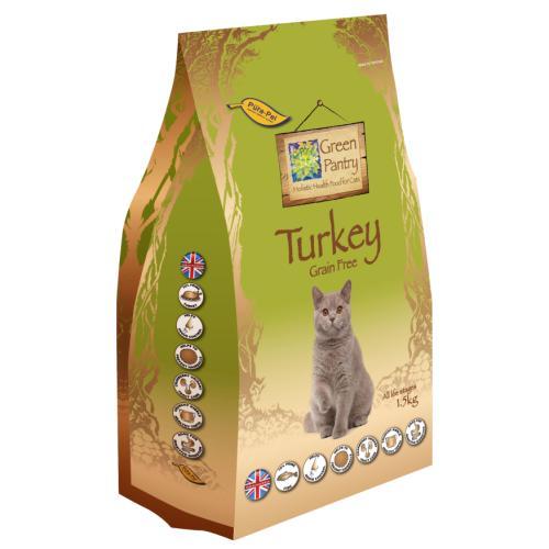 Green Pantry Turkey Grain Free Dry Adult Cat Food