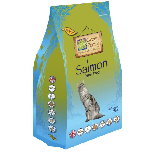Green Pantry Salmon Grain Free Dry Adult Cat Food