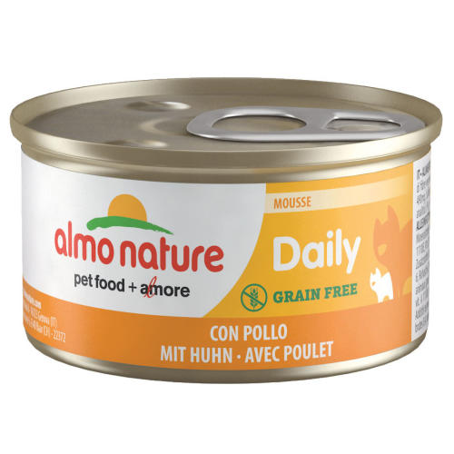 Almo Nature Daily Menu Mousse with Chicken Grain Free Wet Cat Food