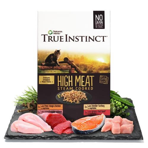 True Instinct High Meat Fillets Multipack Wet Adult Cat Food