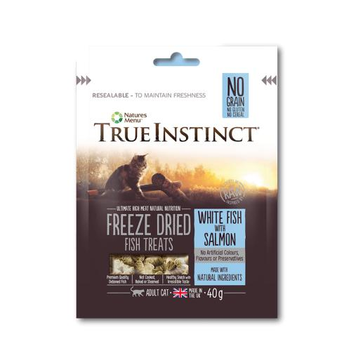 True Instinct White Fish & Salmon Freeze Dried Cat Treats