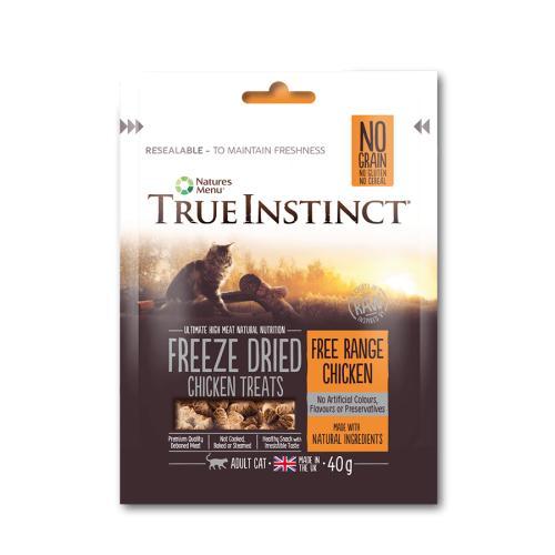 True Instinct Chicken Freeze Dried Cat Treats