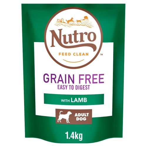 Nutro Grain Free Medium Adult Lamb Dry Dog Food